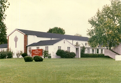 Our church just prior to the renovation in 1991