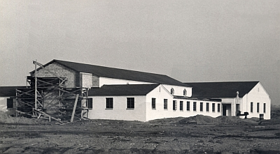 Under construction in 1951